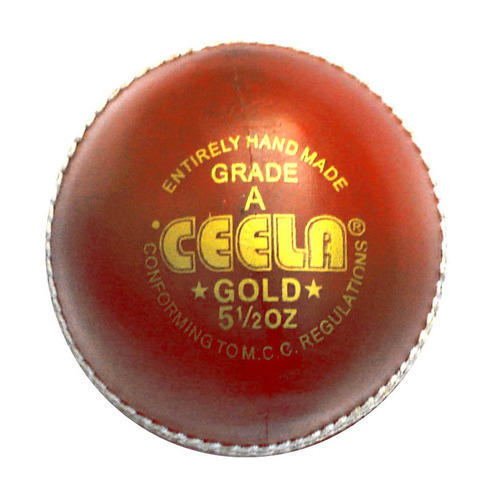 Gold Red Ball
