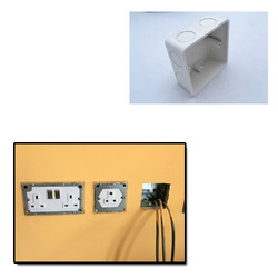 PVC Concealed Box for Electric Fitting