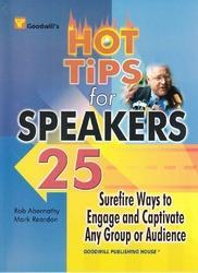 Goodwill Hot Tips for Speakers