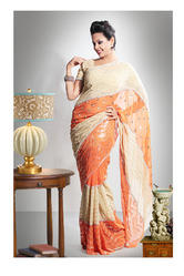 Designer Printed Pretty Light Color Gorgeous Sarees