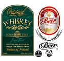 Alcohol and Beverages Labels