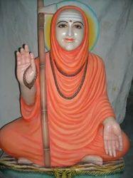 Marble Shankaracharya Statue