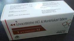 Montelukast 10mg & Levocetirizine 5mg Tablet