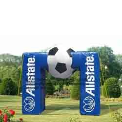 Inflatable Football Arch