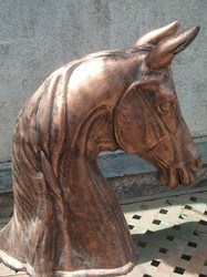 Horse Bust Statue