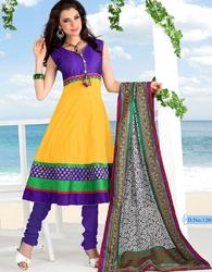 Designer Party Wear Annarkali Suits( Full Stitched)