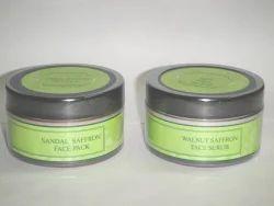 Natural Skin Care Face Pack & Scrub