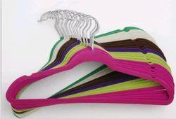 Velvet Flocked Hangers