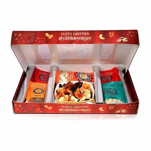 Golden Dry Fruits Box