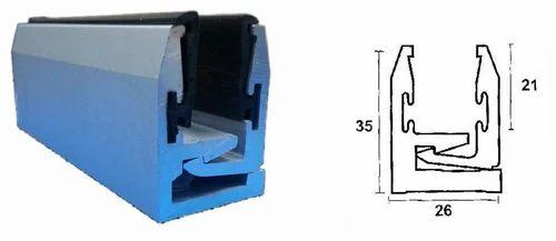 Aluminium Profiles Twin Pro Glazing Profile 12mm Glass