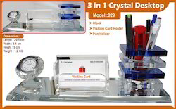 Crystal Desk Top