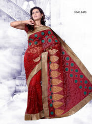 Designer Fancy Partywear Beautiful Designs Sarees