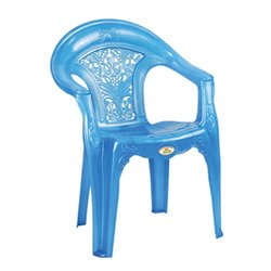 plastic ornamental baby chair with arms