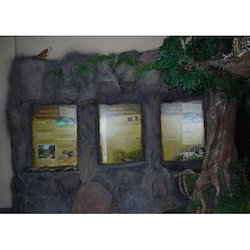 Museum Rock Display