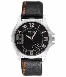 VESPL Decent Black Dial Analog Men's Watch-VS102