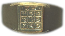 Vrishabha Rasi Ring