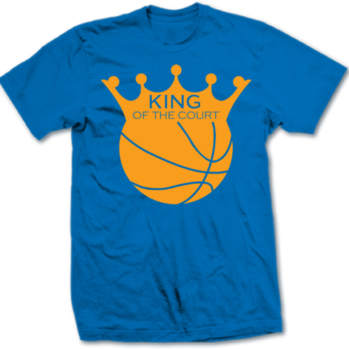 db43c434f5f Basketball - King of the Court Cotton T-shirts Manufacturer from Mumbai