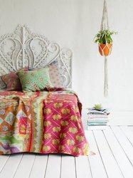 Vintage Kantha Throws Indian Bedding Throw Kantha Quilts