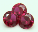 Synthetic Corundum- Ruby, Emerald Green, Blue Sapphire