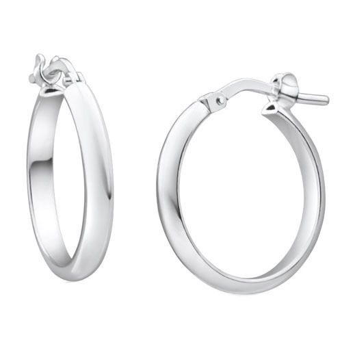 Plain Silver Earring At Best Price In India