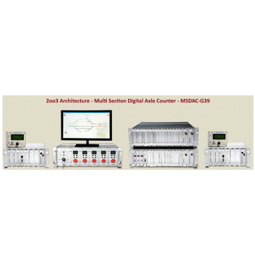 Multi Section Digital Axle Counter