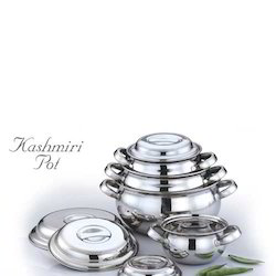 Kashmiri Pot,Stainless Steel Utensils