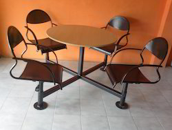 Discussion Table with Adjustable Chair