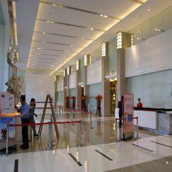 Attirant Lobby Interior Designing In Ahmedabad, लॉबी इंटीरियर डिजाइनिंग, अहमदाबाद