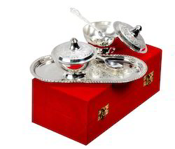 Bowls Set Silver Plated Manufacturer from Jaipur