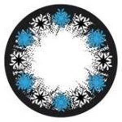 Aqua Blue Star Color Contact Lens