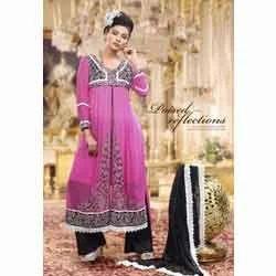 Rose Pink Anarkali Suit