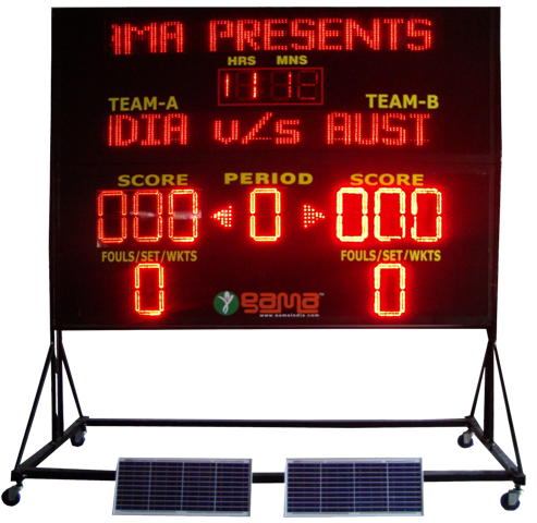 Electronic LED Scoreboard