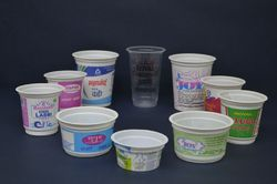 disposable cup glass