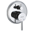 4 Way Single Lever Concealed Diverter