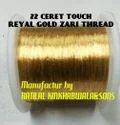 Real 22 Carat Gold Zari Thread