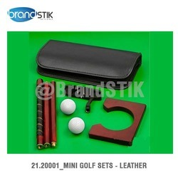 Leather Mini Golf Sets