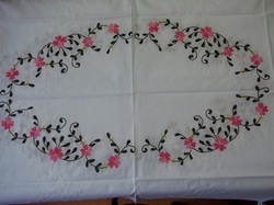 Simple Hand Embroidery Designs For Tablecloth