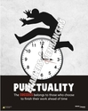 Posters on Punctuality