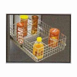 SS Bottle Rack Basket