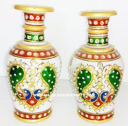 Meenakari Flower Vase