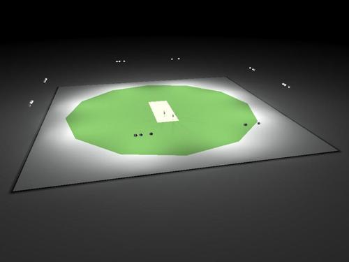 Cricket Stadium Lighting