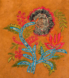 zardozi metal embroidery work