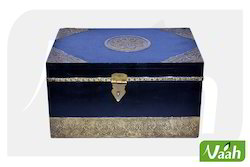 Vaah Decorative Wooden Boxes with Metal Work