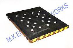 mould pallet car fabricated