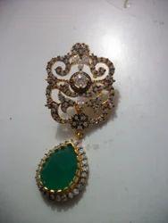 Fashion Brass Earrings