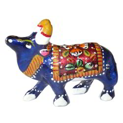 Meena Cow Sculptures