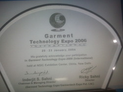 Garment Technology Expo 2006 (International)