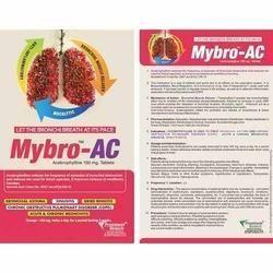 Mybro-AC : Acebrophylline 100 Mg Tablets
