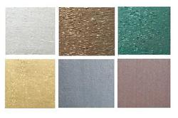 emulsion based metallic wall paints for interior and exterior coating