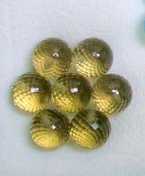 Olive Quartz Ball